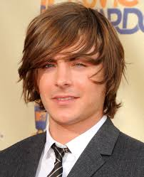 mens long hair up styles