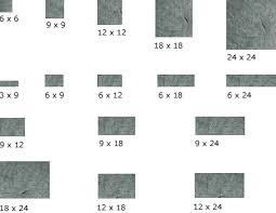 tile size lovely tile flooring and floor tile sizes friends4you org