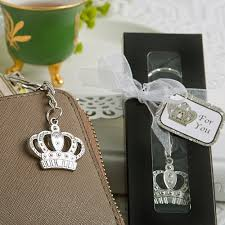 keychain favors crown key chain favor