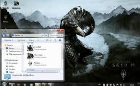 Tlcharger Logiciels De Thmes Thème Pour Windows 7 Skyrim Wallpaper Telecharger Logiciel