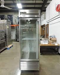 true t 23g commercial reach in glass swing door refrigerator