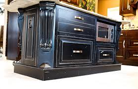 black distressed kitchen island distressed black kitchen island home design ideas and pictures
