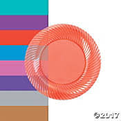 Decorative Plastic Plates Party Plates Paper Plates Fancy Paper Plates