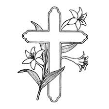 10 free printable cross coloring pages