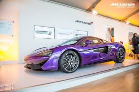 purple aston martin monterey 2015 purple mclaren 570s by mso gtspirit