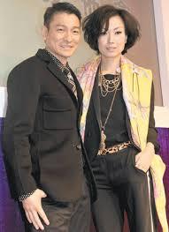 Andy Lau Blind Detective Look Who Are Back Together Andy U0026 Sammi Orange Jasmine Purple Yam