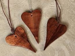 in wood unique jewelry and handcrafted wood work