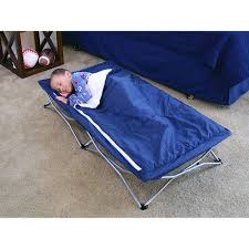 Folding Cot Bed Regalo My Cot Deluxe Portable Folding Travel Bed Sleeping Bag