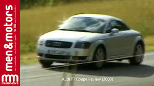 audi tt coupe review 2000 youtube