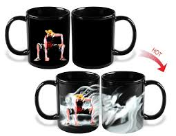 heat color changing one piece luffy mugs u2013 aio hacks