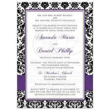 purple wedding invitation templates eliolera com
