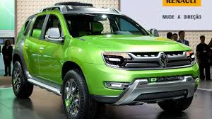 renault green renault dcross revealed in sao paulo a dacia duster based concept