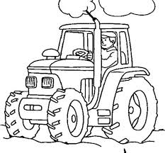 tractor color pages 100 images tractor coloring pages 2