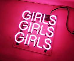 kukuu beer neon sign pink girls 12