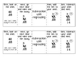 subtraction subtraction worksheets with regrouping pdf free