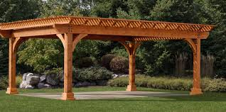 patio u0026 pergola beautiful amish pergola kits amish traditional