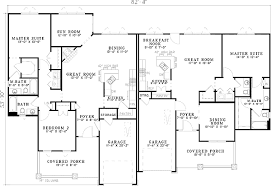 craftsman style house floor plans plan 59741nd craftsman style duplex house plan duplex house