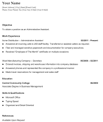 Sample Resume Format For Accounting Assistant by 935065204277 Acting Resume Template Basic Objective For Resume