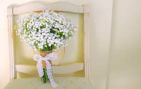 baby s breath bouquet baby s breath bouquet gorgeous artificial baby s