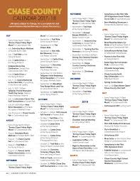 Chase Fax Cover Sheet by Chase County Living Magazine Chase County Kansas U2014 Find Yourself