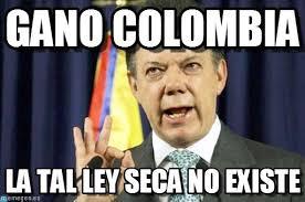 Colombia Meme - gano colombia presedente juan manuel santos meme on memegen