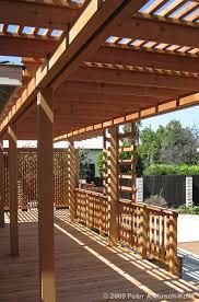 Wood For Pergola by Los Angeles Wood Pergolas Patio Covers Arbors U0026 Beautiful Trellises