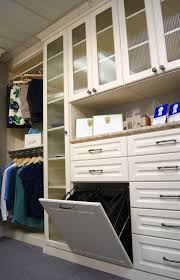 Laundry Hamper Tilt Out by Most Popular Custom Closet Accessories