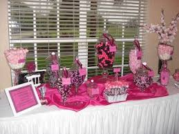 Pink And Black Candy Buffet by 74 Best Pink U0026 Black Cuteness Images On Pinterest Birthday Party