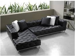 modern sofa bed with chaise amazing leather sofa bed sectional canada mjob blog regarding