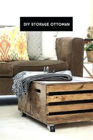 Diy Storage Ottoman Plans Diy Storage Ottomans Upholstered Ottoman Diy Storage Ottoman Home