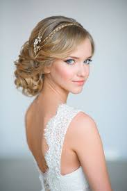 Elegant Bridal Hairstyles by 20 Elegant Wedding Hairstyles With Exquisite Headpieces Tulle