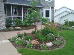 garden ideas front house plain landscaping design for simple of in
