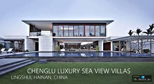 chenglu luxury sea view villas u2013 lingshui hainan china