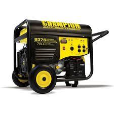 champion power equipment model 41537 7500 9375 watt portable gas