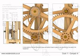Simple Wooden Clock Plans Free by Clock11
