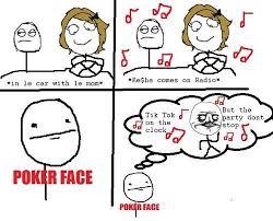 Poker Face Memes - poker face meme poker face meme leaning back poker face meme