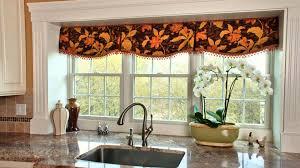 Kitchen Curtain Patterns Kitchen Valances For Windows Ideas Pattern Joanne Russo