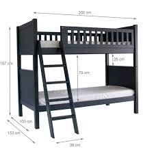 Dimensions Of Bunk Beds by Fargo Bunk Bed Little Folks Furniture