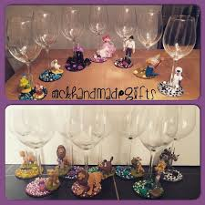 Wine Glass Gifts 54 Best Disney Wine Glasses Images On Pinterest Handmade Gifts