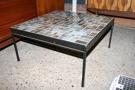 tile top coffee table coffee table design interior boutiques french mosaic tile top
