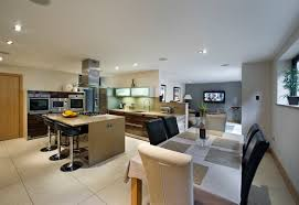 Open Floor Plan Kitchen Dining Room by Stunning 80 Open Plan Kitchen Dining Rooms Design Decoration Of