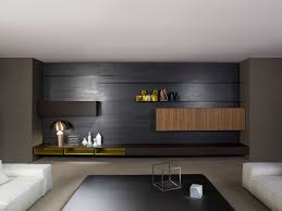 Tv Wall Units Contemporary Tv Wall Unit Wooden By Piero Lissoni Modern