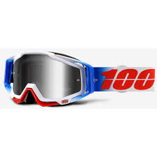 fox air space mx goggle 100 motocross goggle racecraft fourth mirror clear mxweiss