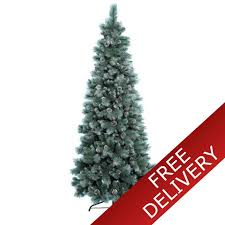 7ft christmas tree everlands 7ft frosted norwich pine artificial christmas tree