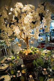 tree centerpiece orchid tree centerpiece exclusively weddings