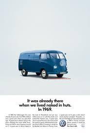 old volkswagen type 3 volkswagen van is 60 years old retro ad campaign nod to bernbach