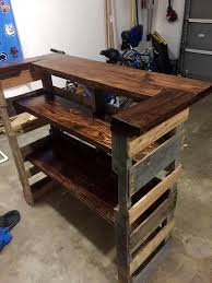Plank Construction Style J Aaron Photo Wood Pallet Kitchen Table Images 27 Best Outdoor Kitchen