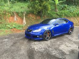lexus is f usa lexus isf with vossen cv3r toms side skirts carbon fiber rear