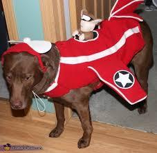 Halloween Airplane Costume Squirrel Fighter Pilot Dog Costume