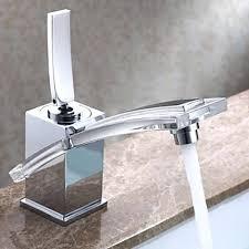 Bathroom Waterfall Faucet Modern Sink Faucet U2013 Meetly Co